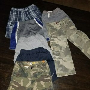 Boys pants and shorts. 7 FOR 35!!!